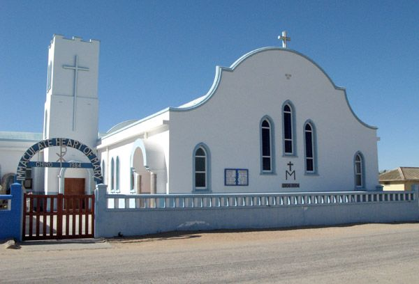 The Roman Catholic Church in Port Nolloth, South Africa.