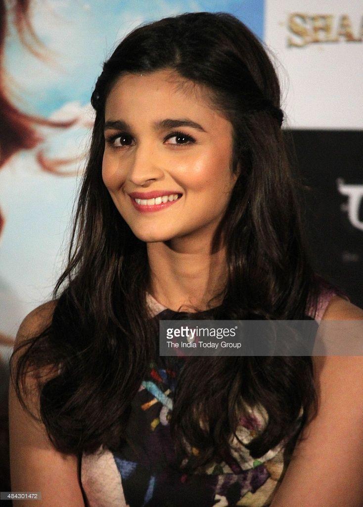 Alia Bhatt at the trailer launch of her upcoming movie Shaandaar in Mumbai.