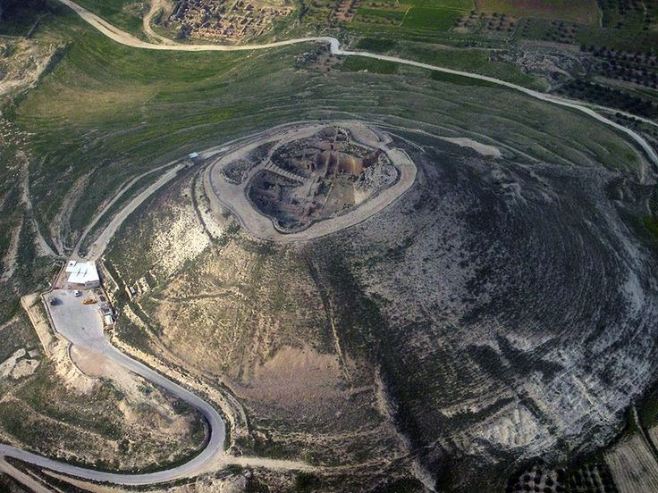 Herodium National Park is home of the fortress of the ancient ruler Herod the Great. Its over 2000 years old!