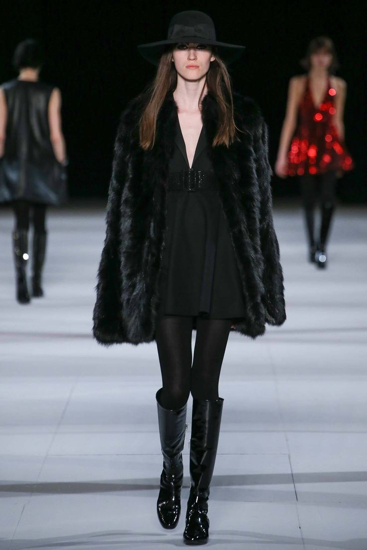 Saint Laurent Fall 2014 Ready to Wear Collection Photos   Vogue