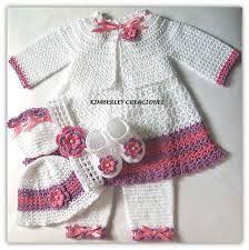 Resultado de imagen para ropa de niña tejida