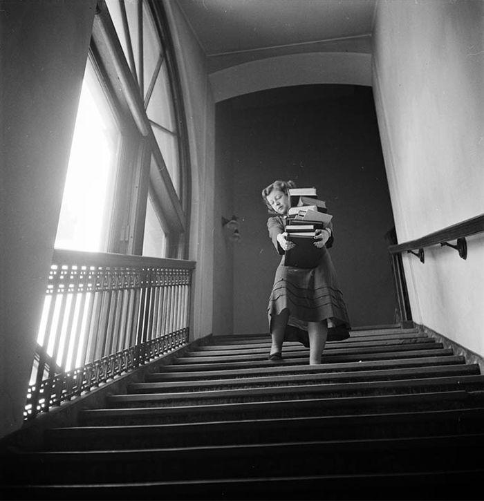 Stanley Kubrick's photo: Student At Columbia University, 1948
