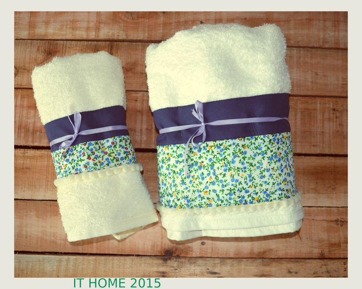 Set de toalla y toallón personalizados. Tu baño también tiene personalidad.