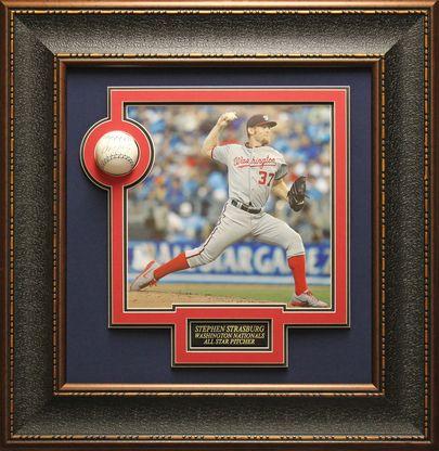 Stephen Strasburg, Washington Nationals Pitcher Authentically signed MLB Baseball