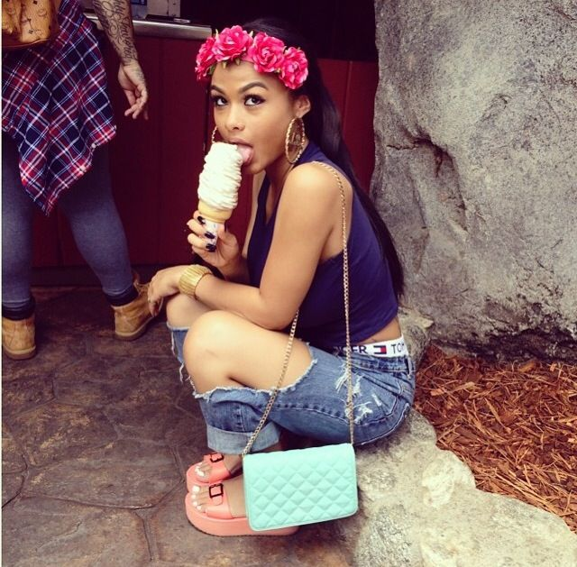 294 best india westbrooks images on pinterest cute girls pretty girls and fashion killa - Mixed girl swag ...