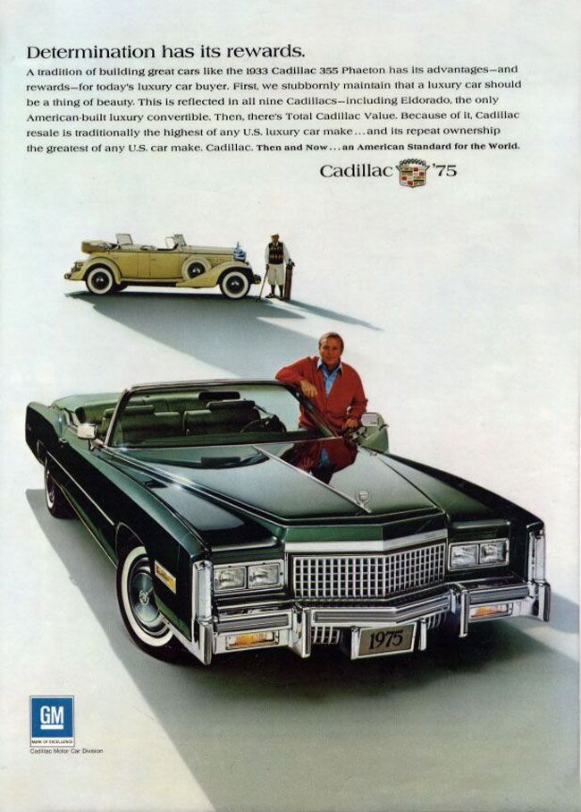 1975 Cadillac Eldorado Convertible. This thing was a Whale!