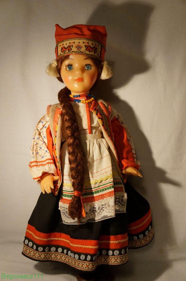 Кукла 8 марта - СССР Рязанка