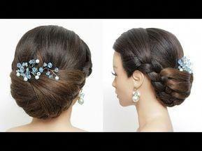 Elegant Wedding Prom Updo Tutorial. Formal Hairstyles YouTube #promhairupdotutorial