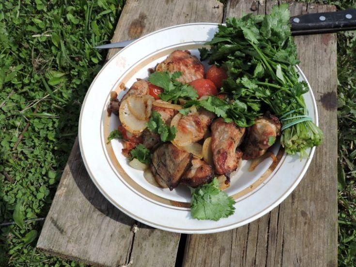 Мясо в казане / Едальня