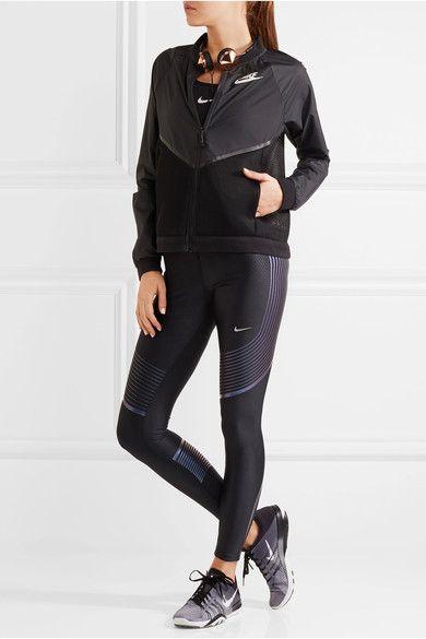 Nike | Power Speed printed stretch-jersey leggings | NET-A-PORTER.COM