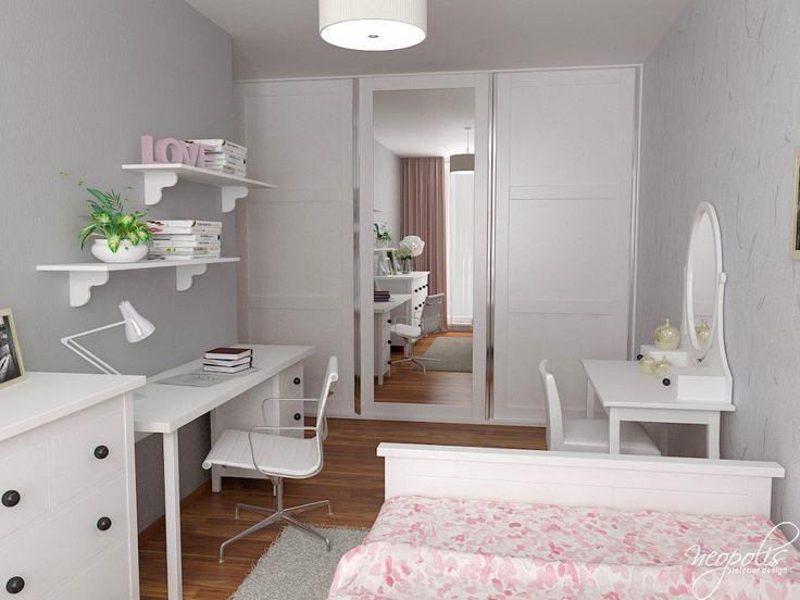 Dievčenská izba s veľkým zrkadlom