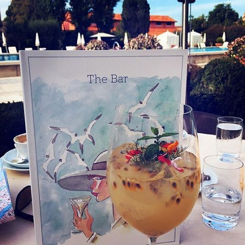 Do you know where our signature 'Nina's Passion' got its name? Our beloved guest George Clooney dedicated this sweet #cocktail to his mother.  #BelmondPostcards by @Tirade13 #Venice #Italy