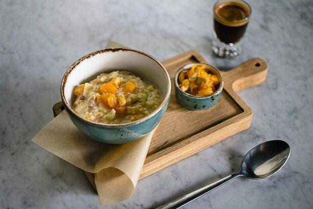 10 рецептов блюд из тыквы — The VillageПшенная каша с тыквой и медом