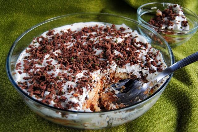 Peppermint Crisp Tart - South African recipe :)