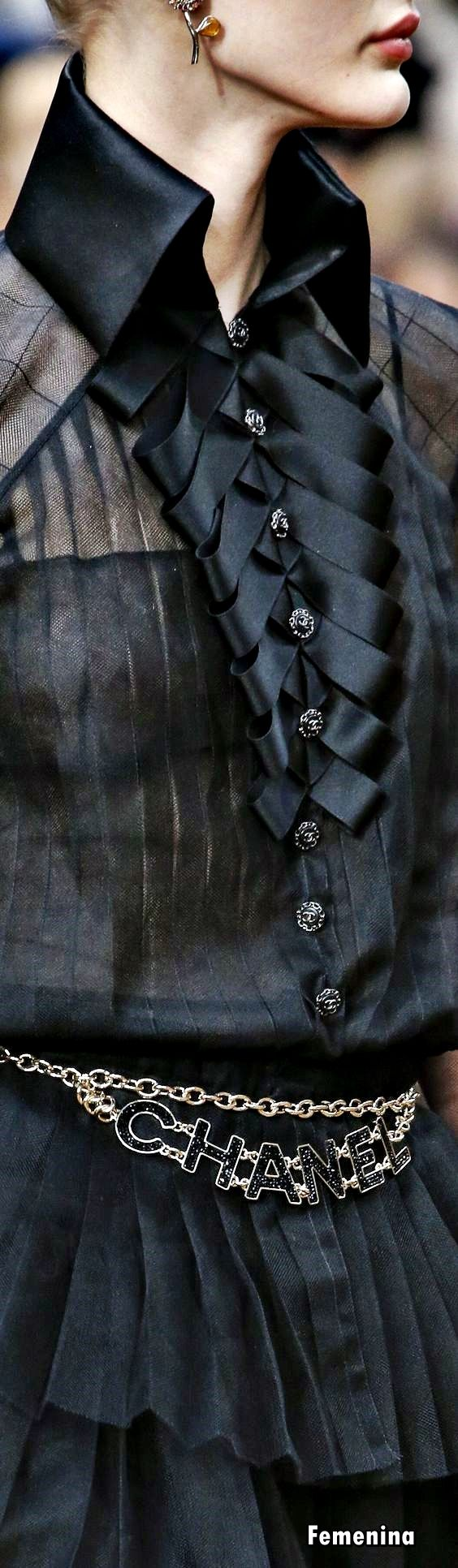 Chanel Fall Winter 2018 – Detail