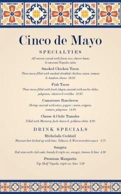 Traditional Cinco de Mayo Menu #diy