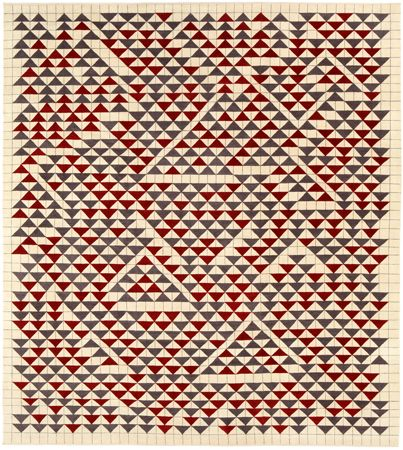 Camino Real Anni Albers  From Study For Camino Real, 1967 Gouache on paper  Produced in an edition of 10 in association with The Josef & Anni Albers Foundation