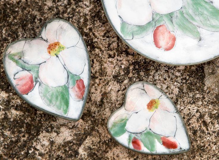 Omenankukka Heart Bowl