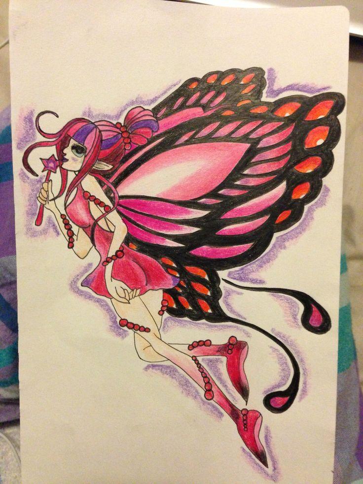 Fairy I drew for a family friend
