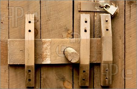 Wooden Door Latches for Wood | Picture Of Old And New Locks. Royalty Free Picture at FeaturePics.com
