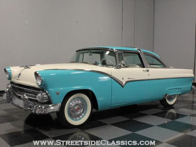 AutoTrader Classics - 1955 Ford Crown Victoria Coupe Turquoise 8 Cylinder Automatic Other | American Classics | Lithia Springs, GA