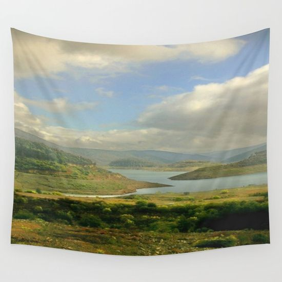 Alpine Ranges Wall Tapestry