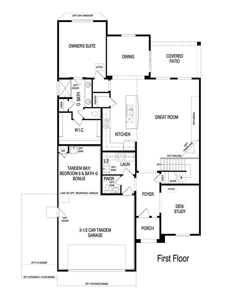 Pulte Homes Sapphire Floor Plan Via Www Nmhometeam Com