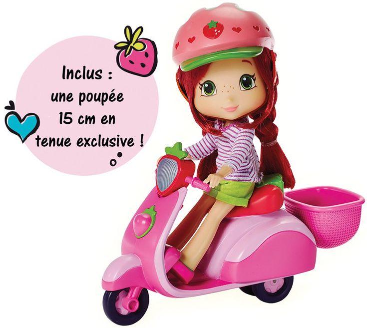 #Charlotte aux #fraises et son #scooter
