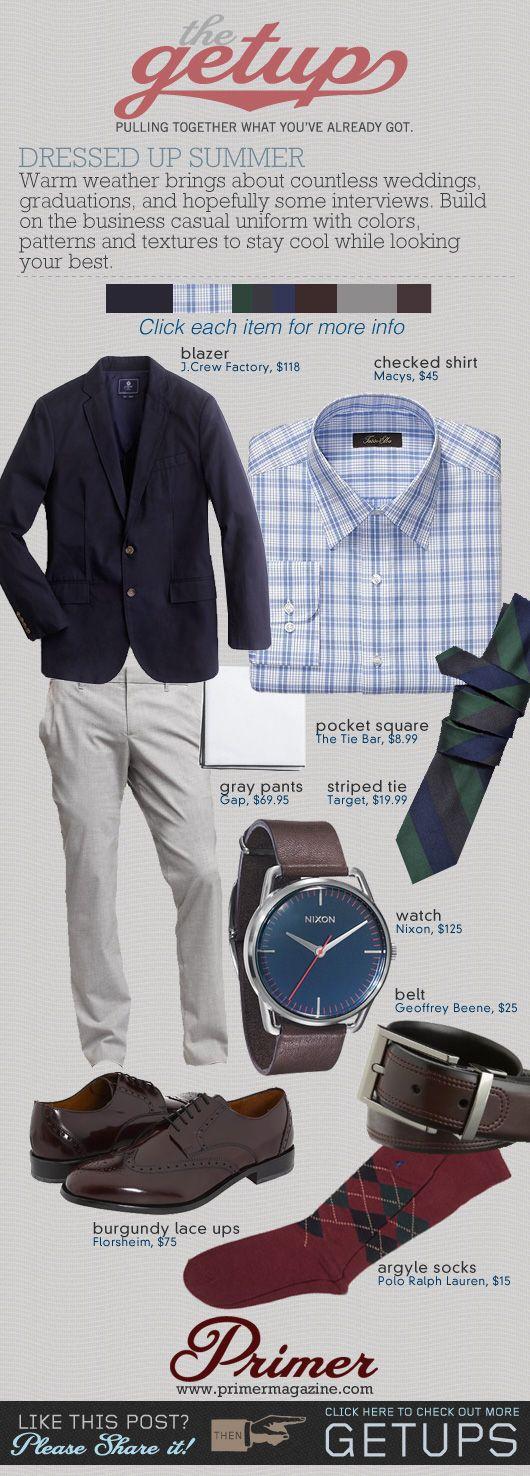The Getup: Dressed Up Summer - Primer