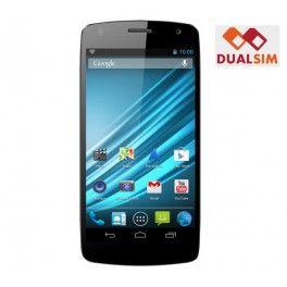 """Le Logicom S504 est un smartphone dual SIM intégrant le système d'exploitation Android 4.2.2 Jelly Bean. Fort d'un processeur Quad Core cadencé à 1,2 GHz, ce téléphone fait montre d'une grande réactivité.Doté d'un bel écran tactile IPS de 5"""" (960 x 540p), le S504 garantit une grande fluidité de navigation. Vous pouvez ainsi accéder aisément à toutes les applications du Google Play Store.Le téléphone portable S504 de Logicom embarque également une webcam avant de 1,9 MP et un appareil photo…"""