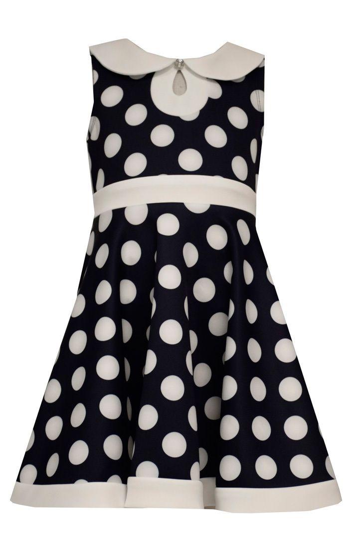 Ella Blu Store - Bonnie Jean Little Girls' Scuba Dot Nautical Special Occasion Dress 7-16, $29.00 (http://www.ellablustore.com/bonnie-jean-little-girls-scuba-dot-nautical-special-occasion-dress-7-16/)