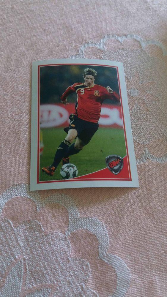 Fernando Torres Spain Atletico Madrid #156 WORLD CUP Football Fan 2010 Photo Lux #Liverpool