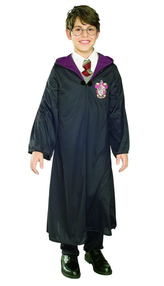 Harry Potter Gryffindor Robe Cloak Child Kids Adult Halloween Costume Medium #Rubies