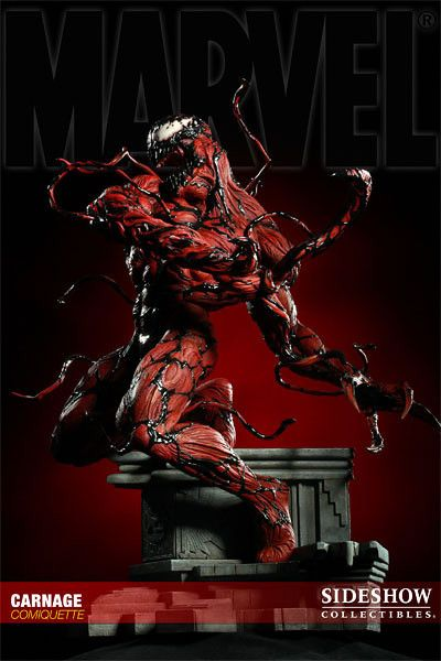 Carnage Comiquette / Sideshow Collectibles / Edition size: 1000 / JCG