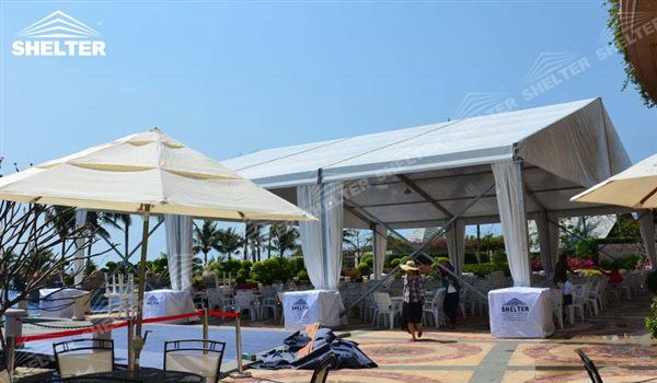 SHELTER Catering Tent - Event Tent - Commercial Marquee - Luxury Wedding Reception Tent - Outdoor Catering Venue -29