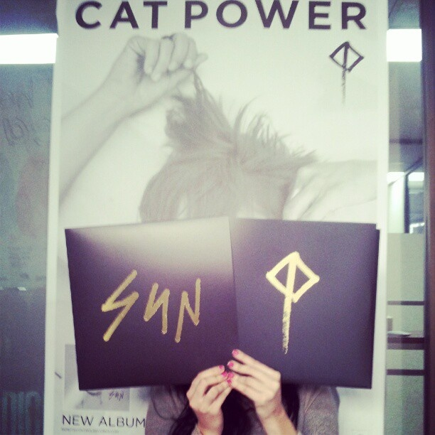 'Sun' deluxe edition #catpower #pretty - @remotecontrolrecords- #webstagram