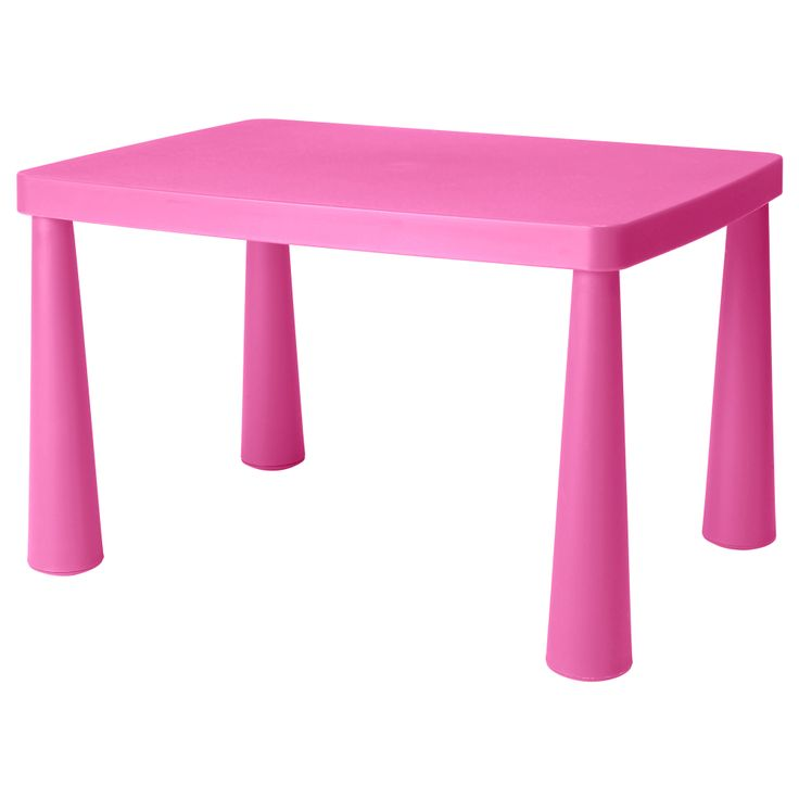 "MAMMUT Children's table - light pink, 30 3/8x21 5/8 "" - IKEA"