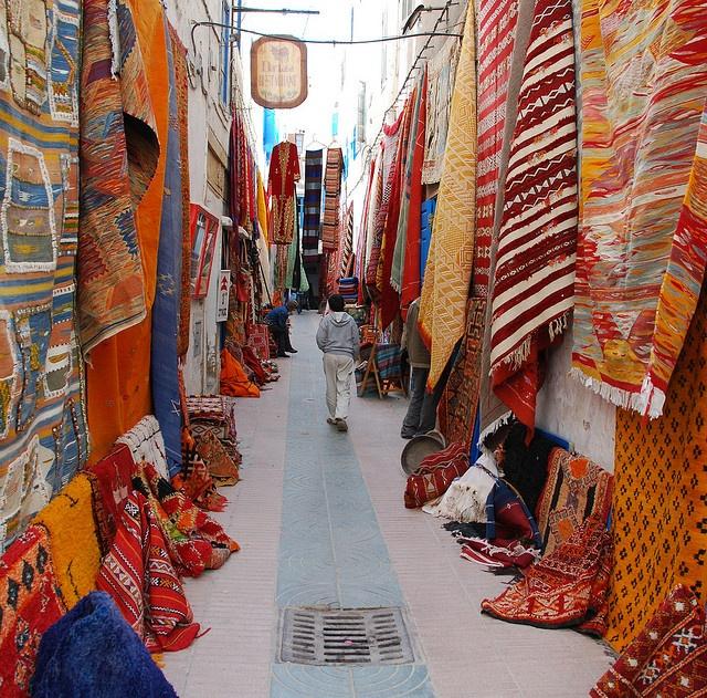 Images De Maroc... Carpet Lane