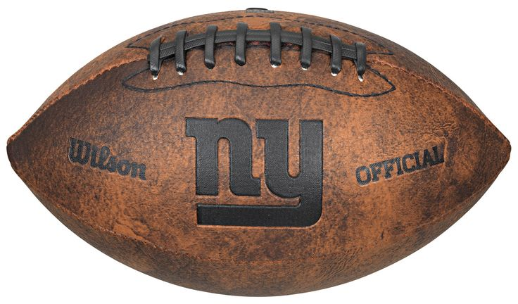 New York Giants Football - Vintage Throwback - 9 Inches (backorder)