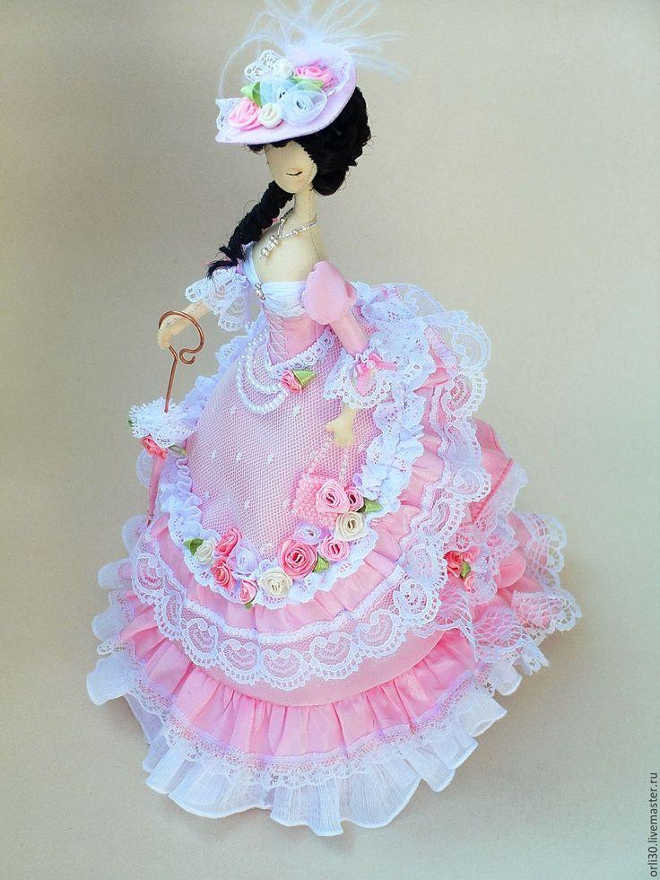Купить Текстильная кукла.Тряпиенс. Агата - розовый, тряпиеса, тряпиенсы, текстильная кукла, интерьерная кукла