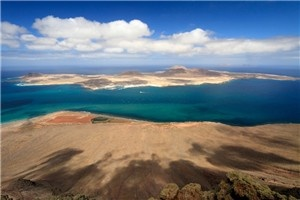 Action holidays in Lanzarote: Hike, cycle, swim and surf just off the coast of Africa in the Canary Islands - what a view!