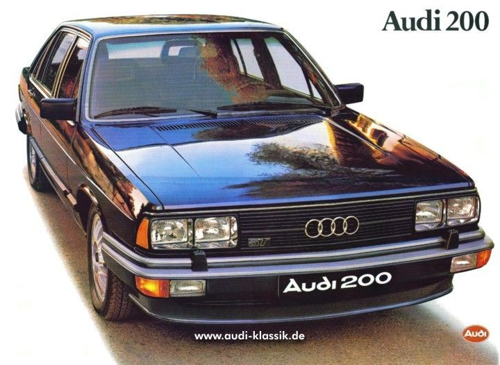 Another cool Audi: 200 5T