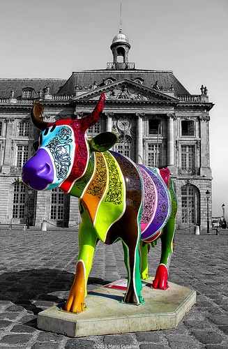 Cow Parade art exhibits around the world ~ *VünDerBar*