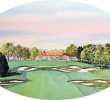Bethpage Golf Course 18th Hole by bill holkham