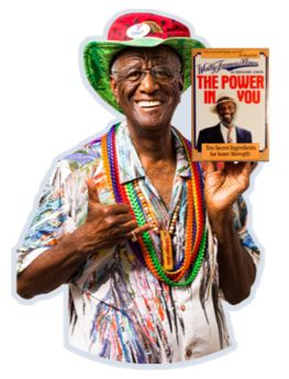 Join Wally Amos Words of Wisdom Club. The WoW Club sends you periodic inspirational and uplifting messages directly to your inbox from Wally Amos.