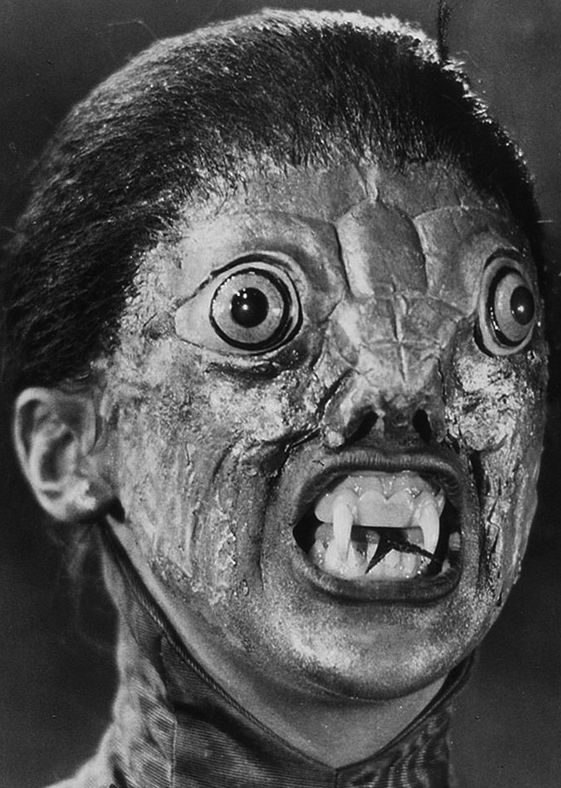 The Reptile, 1966. Vintage Monsters