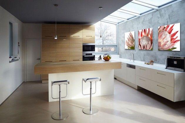 Neobyčejná kuchyň v neobyčejném domě | nábytek LE BON