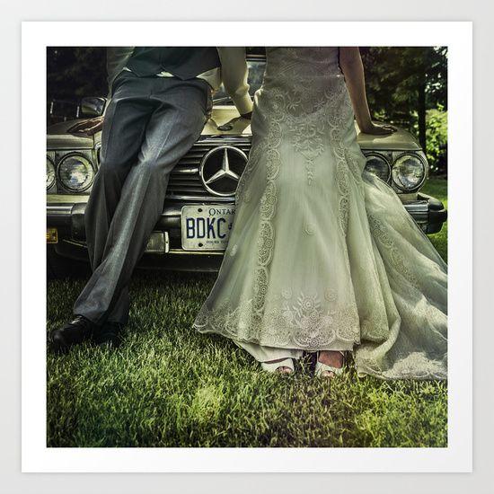 Bride and Groom Vintage