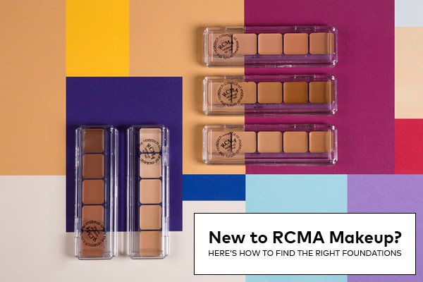 New to RCMA Makeup? Here's How to Find the Right  Foundations | Beautylish RCMA is a favorite among MUA's, Wayne Goss recommends it, what you can do is try a single-they are very inexpensive, but they work very very well if you want full coverage, you can get a five pan palette and MIX shades to find your match-they have an amazing Contour Palette and much more!