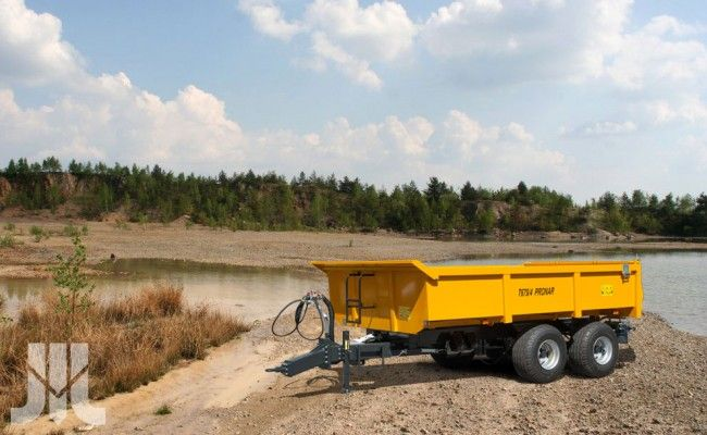 New trailers PRONAR T679/3 and PRONAR T679/4 ideal for the transportation of agricultural materials, stones, gravel, sand, various equipment.